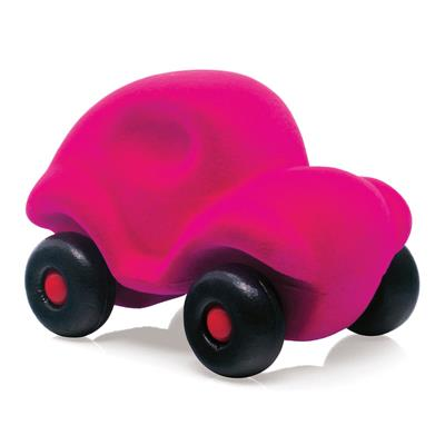 Rubbabu Little Pink Car Toy