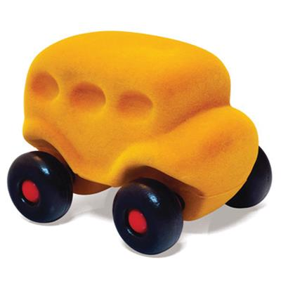 Rubbabu Little Yellow Bus Toy