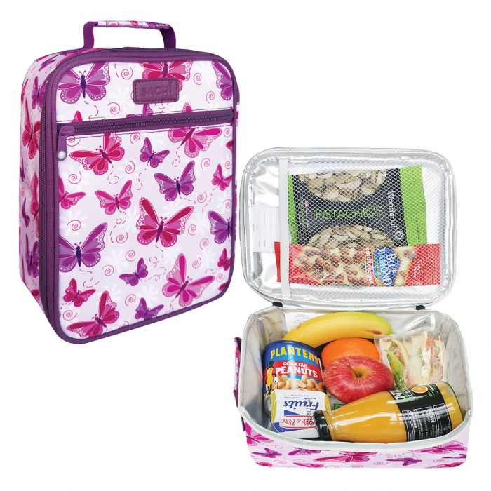 Sachi Insulated Butterflies Lunch Bag