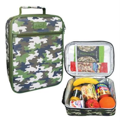Sachi Insulated Camo Green Lunch Bag