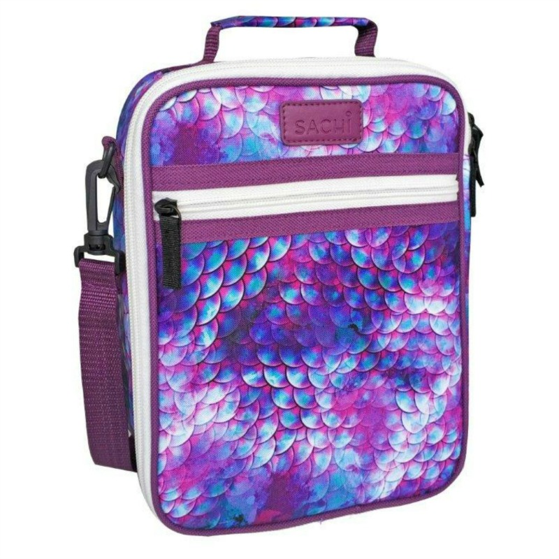 Sachi Insulated Dragon Scales Lunch Bag | Kids Lunch Bag