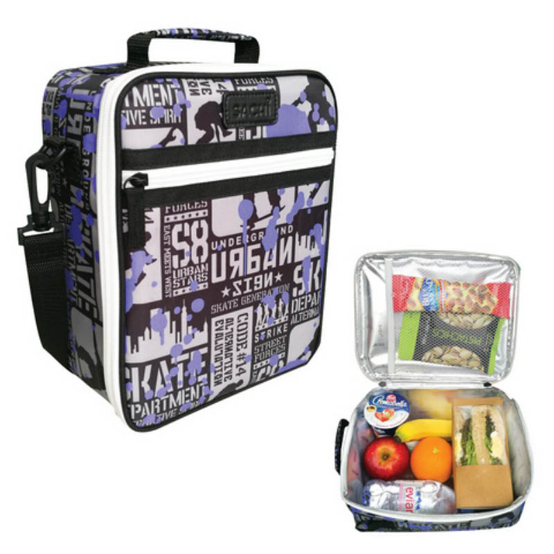 Sachi Insulated Lunch Bag Skate Park