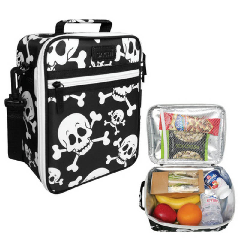 Sachi Insulated Lunch Bag - Skulls
