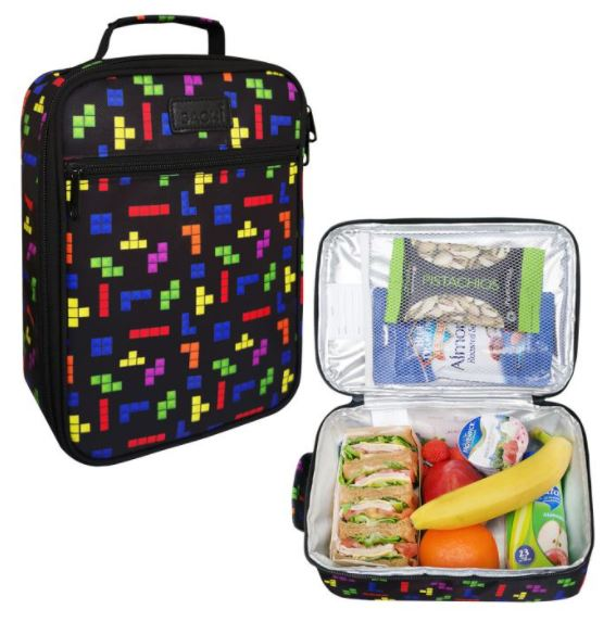 Sachi Insulated Lunch Bag Tetrimino | Kids Lunch Bag