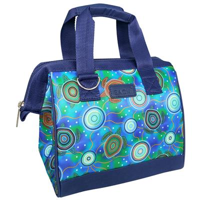 Sachi Insulated Lunch Tote Sea Turtles