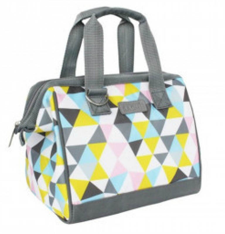 Sachi Insulated Lunch Tote Triangle Mosaic