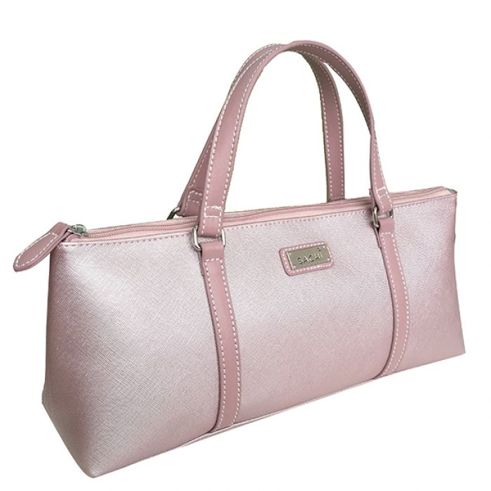 Sachi Insulated Wine Purse Blush
