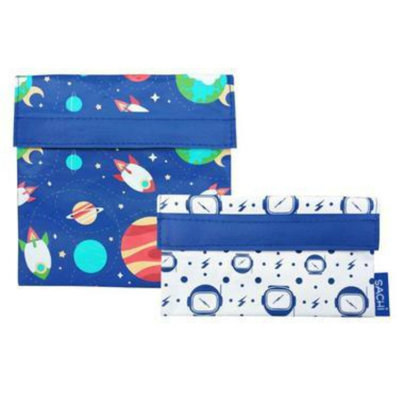 Sachi Lunch Pockets Set of 2 - Outer Space