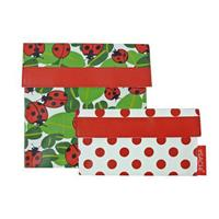 Sachi Lunch Pockets Set of 2 - Ladybug