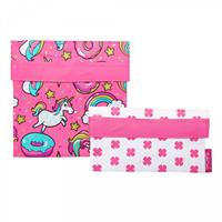Sachi Lunch Pockets Set of 2 - Unicorns