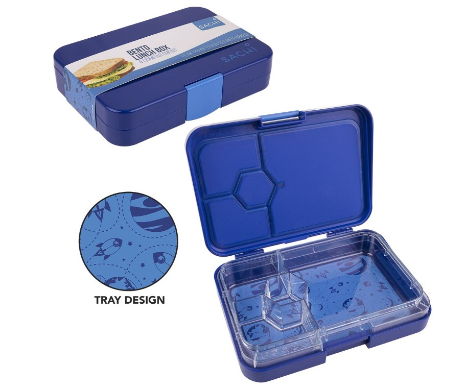 Sachi Outer Space Bento Lunch Box