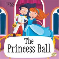 Sassi Book and Giant Puzzle The Princess Ball 30 pcs