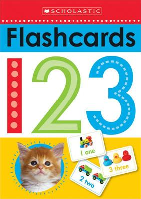 Scholastic Flashcards 123