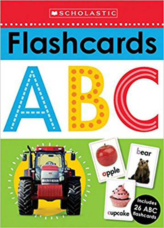 Scholastic Flashcards ABC