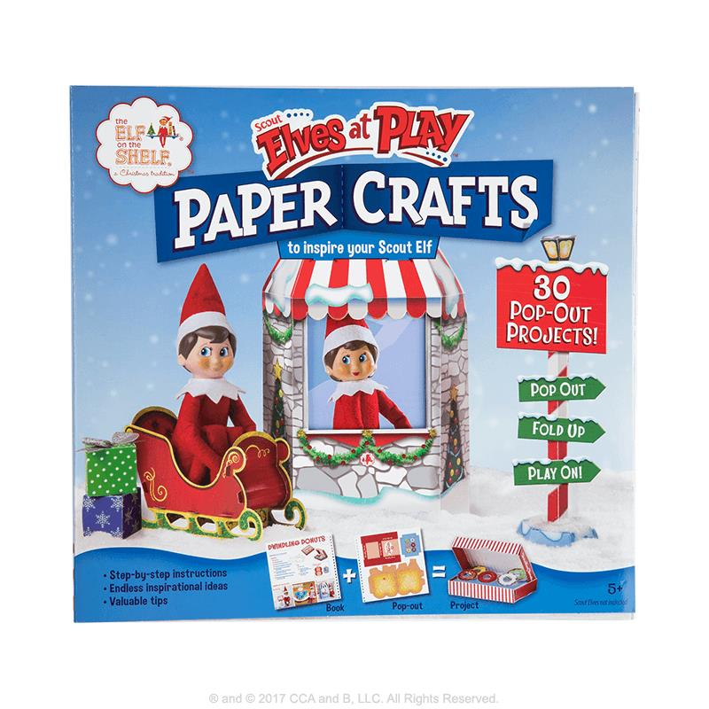 SCOUT ELVES AT PLAY -  Elf Paper Crafts