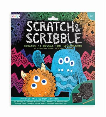 Scratch & Scribble Monsters