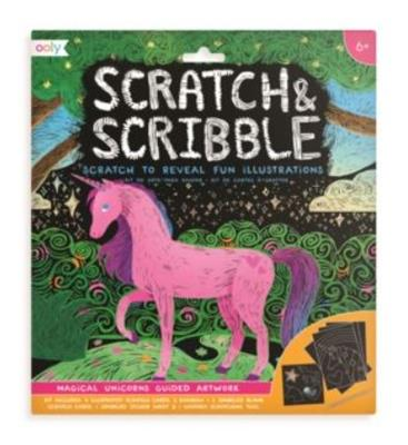 Scratch & Scribble Unicorns