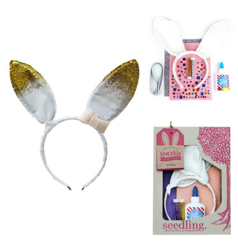 Seedling Make Your Own Sparkle Bunny Ears