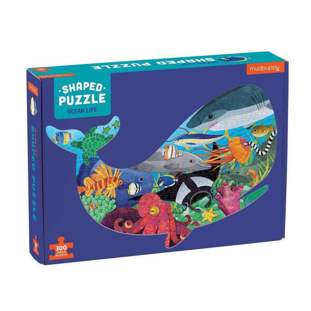 Ocean Shaped Puzzle 300 Pc