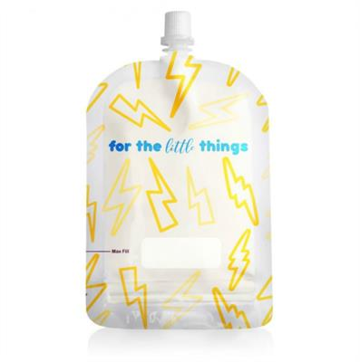 Sinchies Reusable Pouches Lightning Bolt 150ml 10pk