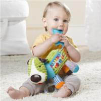 Bandana Buddies Stroller Toy {Hound Dog}