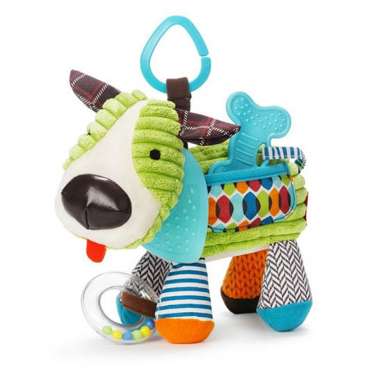 Skip Hop Bandana Buddies Dog Stroller Toy