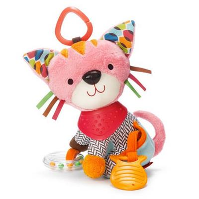Skip Hop Bandana Buddies Kitty Stroller Toy