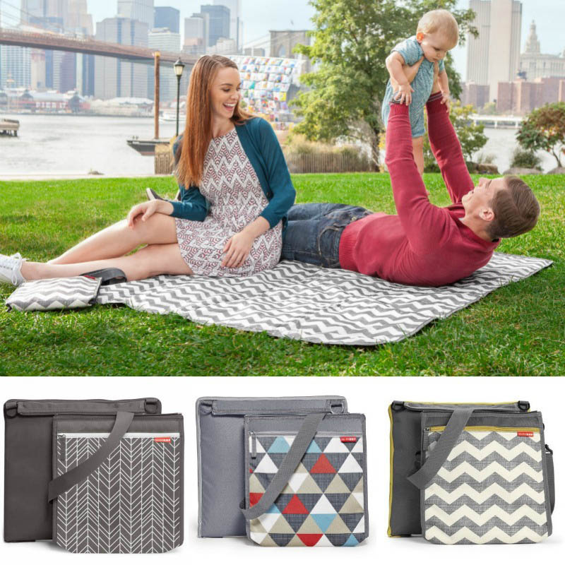 Skip Hop-Central Park Outdoor Blanket&Cooler Bag