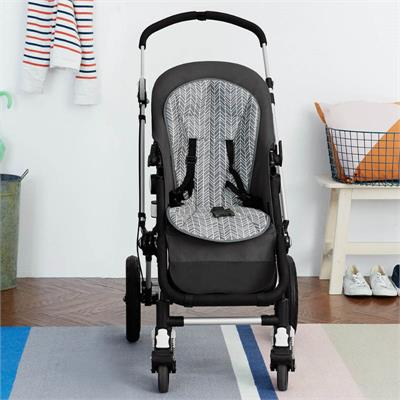 Skip Hop - Cool Touch Stroller Liner - Grey Feather