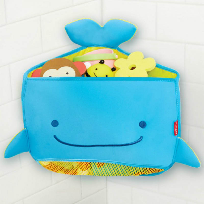 Skip Hop-Kids Bathroom Accessories- Moby Corner-Fit Bath Toy Organiser