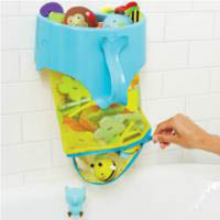 Skip Hop-Kids Bathroom Accessories- Moby Scoop and Splash Bath Toy Organiser
