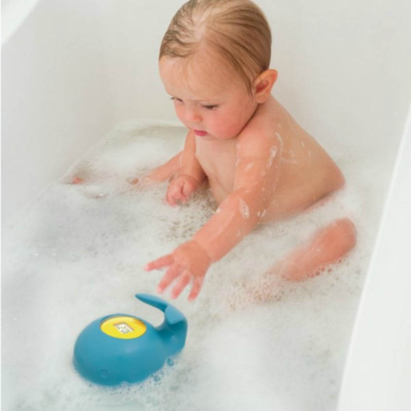 Skip Hop-Kids Bathroom Safety-Moby Floating Bath Thermometer