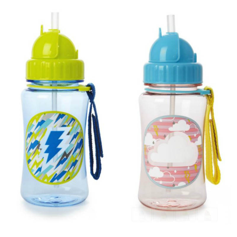 Skip Hop Kids Drink Bottle - cloud or lightning