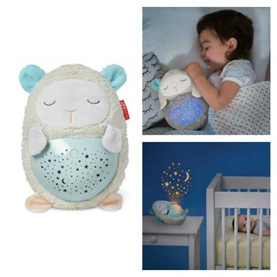 Skip Hop-Moonlight and Melodies Hug Me Projection Soother-Lamb