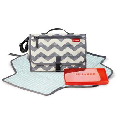Skip Hop-Portable Nappy Change Kit-Pronto Changing Station {Chevron}