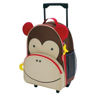 Skip Hop Rolling Luggage Monkey