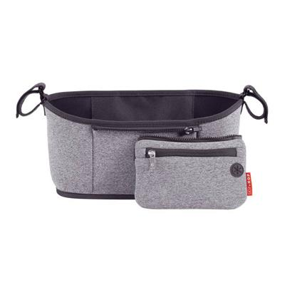 Skip Hop - Stroller Organiser  - Heather Grey