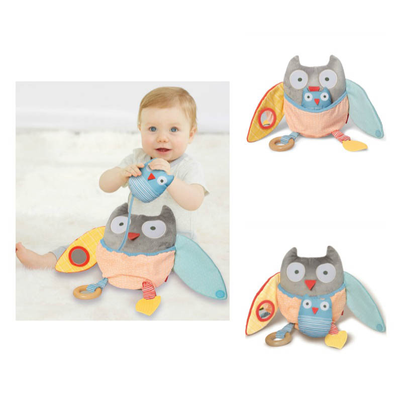 Skip Hop Pastel Grey Treetop Friends Activity Owl