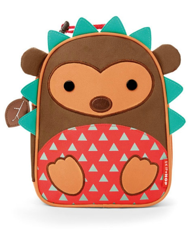 Skip Hop Zoo Hedgehog Lunch Bag  | Kids Lunch Bag