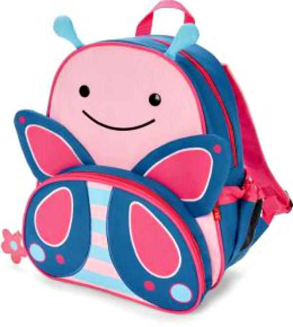 Skip Hop Zoo- Kids Backpacks-Butterfly Backpack