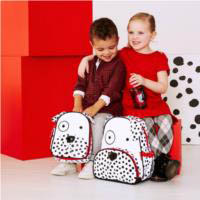 Skip Hop Zoo- Kids Backpacks-Dalmation Backpack