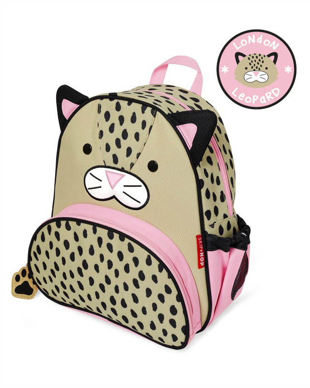 Skip Hop Zoo- Kids Backpacks-Leopard Backpack