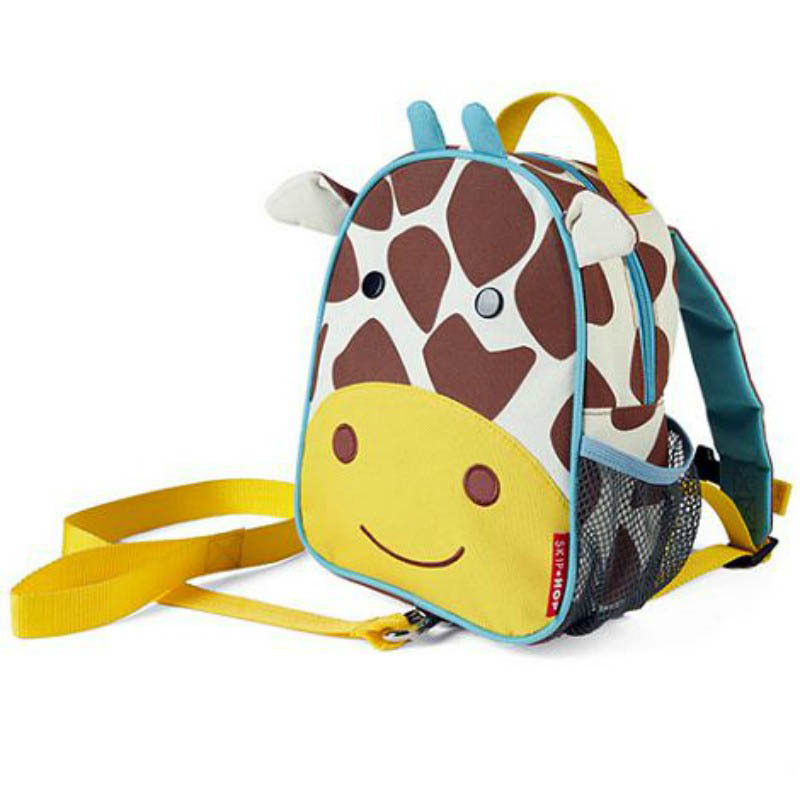 Skip Hop Zoo-Kids Backpacks- Let Mini Backpack with Safety Harness {Giraffe}