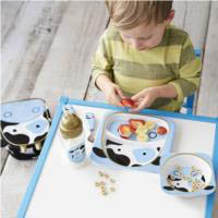 Melamine Set {Cow}