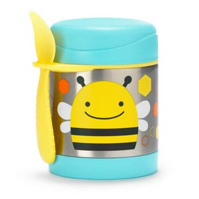 Skip Hop Zoo-Kids Lunchboxes- Insulated Food Jar {Bee}