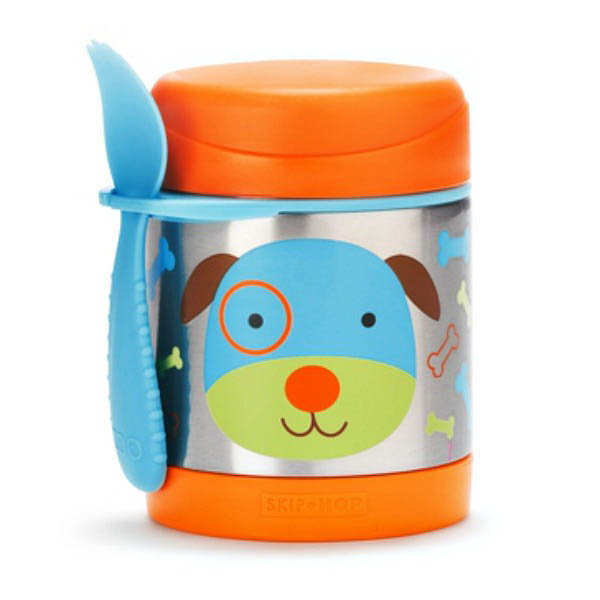 Skip Hop Zoo-Kids Lunchboxes- Insulated Food Jar {Dog}