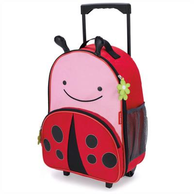 Skip Hop Zoo Kids Travel Rolling Luggage (Ladybug)