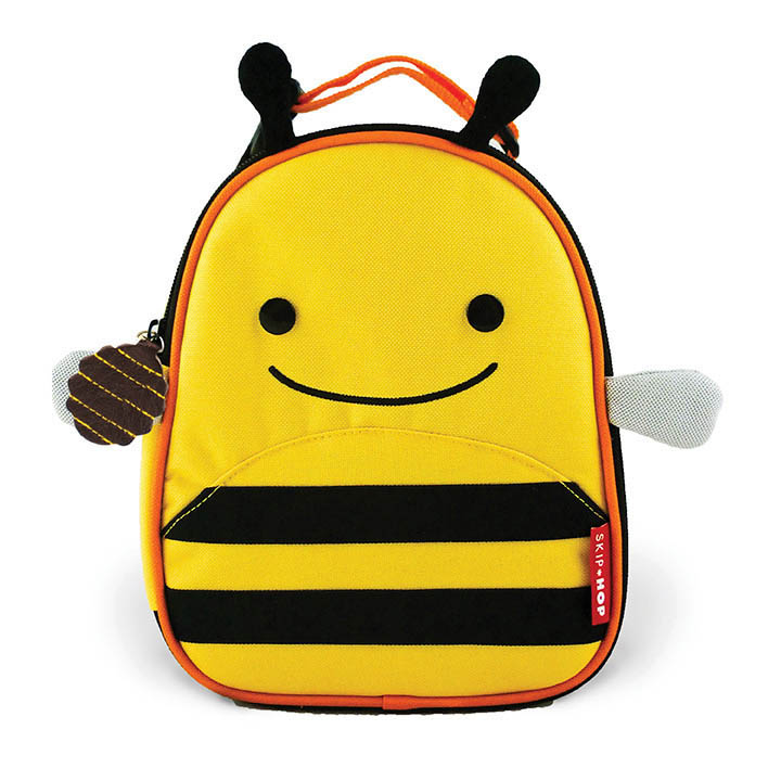 Skip Hop Zoo Lunchies-  Kids Lunch Bag- Bee