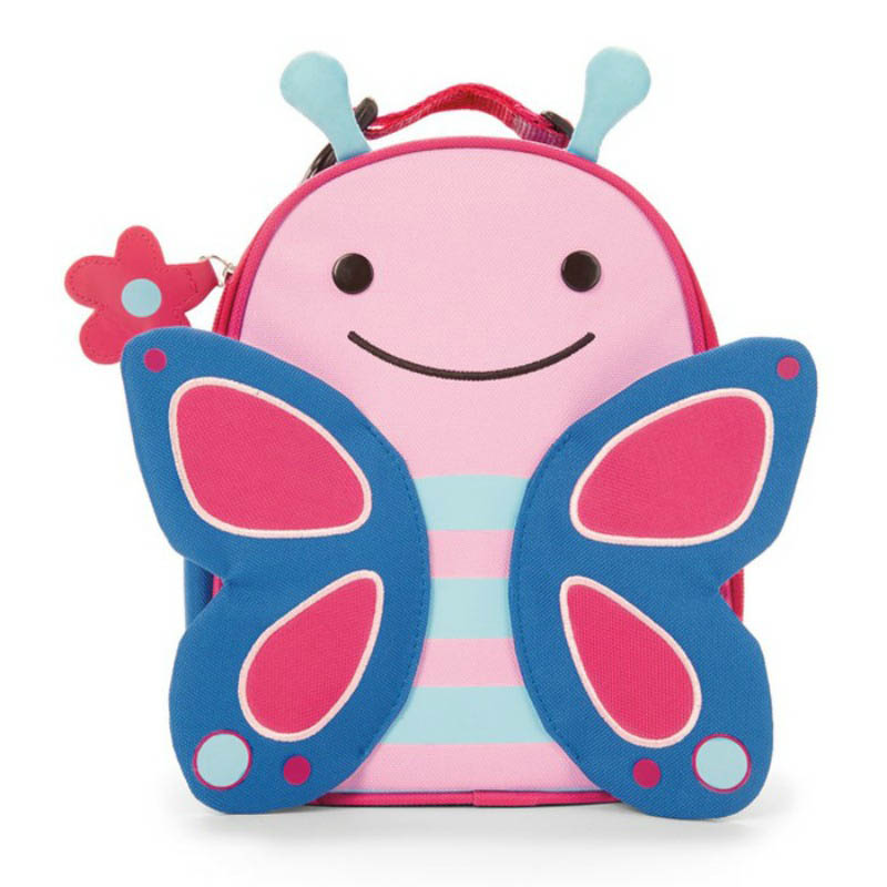 Skip Hop Zoo Butterfly Lunch Bag | Kids Lunch Bag