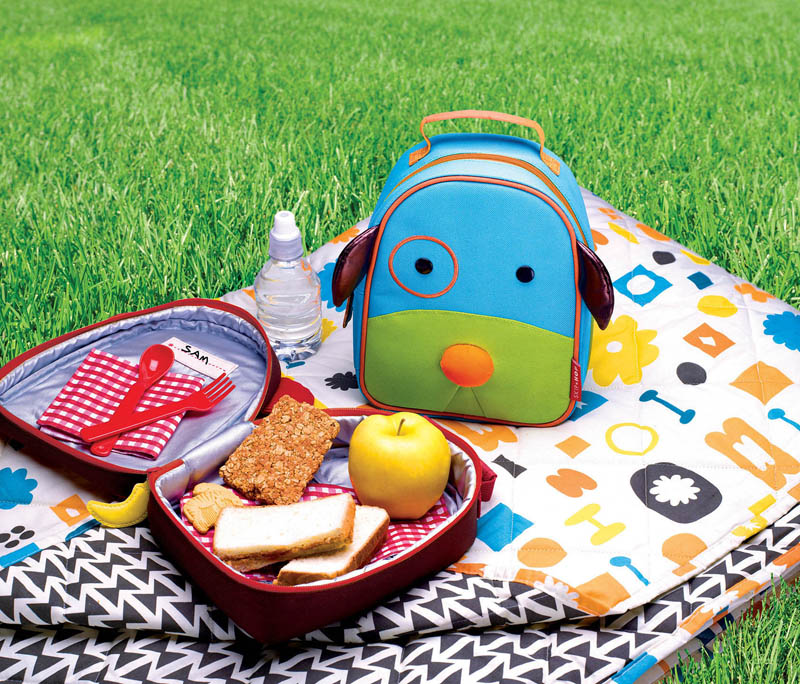 Skip Hop Zoo Dog Lunch Bag